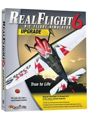 GREAT PLANES GREAT PLANES NOW $49.00 REAL FLIGHT SIMULATOR 6 UPGRADE  GPMZ4468