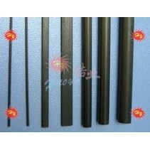 HY CARBON TUBE 1mt x 3.5x2.5mm<br />( OLD CODE HY150109 )