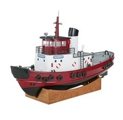 AQUACRAFT AquaCraft Atlantic II Harbor Tug RTR <br /> SPECIFICATIONS<br /> <br /> Length: 30.3&quot; (768mm)<br /> Width: 10.5&quot; (267mm)<br /> Height: 19&quot; (495mm)<br /> Weight: 7.8lbs (3.5kg)