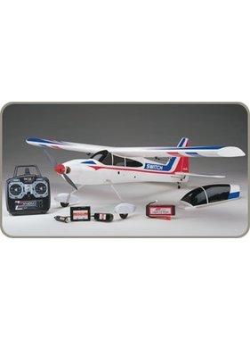 "FLYZONE Flyzone NOW $275.00 Switch 2-in-1 Sport Trainer EP RTF 45"""