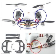 ACE IMPORTS DJI PHANTOM DUAL BATTERY TRAY ADAPTER ( REQUIRES PARALELL LEAD USE ACE 10221 )