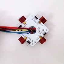 EMAX QUAD POWER DISTRIBUTION BOARD WITH XT-60 CONNECTOR