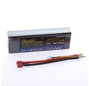 LION POWER - TIGER POWER LIPOS LION POWER LIPO 35C 7.4V HARD CASE 5400MAH READ SAFETY WARNING BEFORE USE 46.3X25.2X137.2 LEADS COME OUT THE TOP