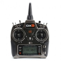 Spektrum DX9 Black Edition Transmitter Only, Mode 1