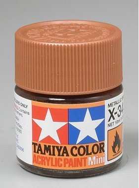 TAMIYA TAMIYA 10ml X-34 METALLIC BROWN