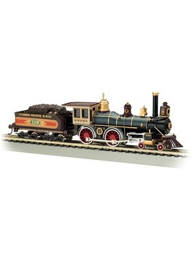 BACHMANN BACHMANN HO SCALE STEAM UNION PACIFIC AMERICAN 4-4-0 WOOD LOAD