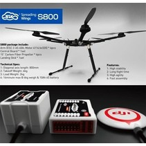 DJI SPREAD WINGS S800 + WOOKONG WK-M