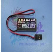 HY MODEL ACCESSORIES HY RX BATT CHECKER 4.8 - 6.0V<br />(OLD CODE HY221001 )