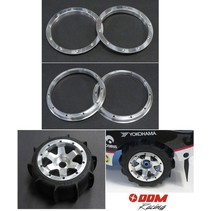 DDM ALUMINIUM OUTER HD LIPPED BEADLOCKS FOR HPI BAJA AND LOSI 5IVE