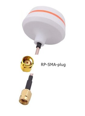 EMAX FPV 5.8GHZ CIRCULAR POLARIZED ANTENNA FEMALE TRANSMITTER TX