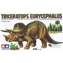 Triceratops Eurycephalus - Tamiya Model