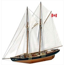 Artesania Latina 22453 Bluenose II, Complete Wooden Model Ship Kit, 1:75 Scale Historic Replica