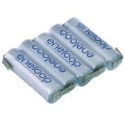 PANASONIC ENELOOP 6.0V 1900MAH NIMH AA BATTERY PACK FLAT OR HUMP WITH JR LEAD