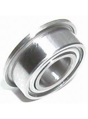 BEARINGS FLANGED BEARING 6 x 3 x 2.5mm RUBBER SHIELD MF52-2RS