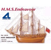 ARTESANIA ARTESANIA H.M.S ENDEAVOR BARK 1768 1/60 SCALE