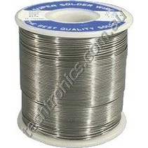 1.0MM SOLDER 500GR ROLL 60/40  ( CONTAINS LEAD )