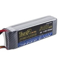 TIGER POWER LIPO 45C 11.1v 5400mah 42.7 x 136 x 30.5 377gr FITTED WITH XT90<br />  PLUG