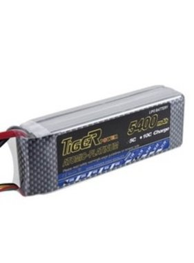 LION POWER - TIGER POWER LIPOS ENRICHPOWER LIPO 45C 11.1v 5400mah 28.5x43.0x136mm  340gr FITTED WITH XT60<br />  PLUG