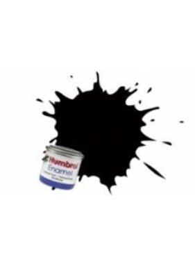 HUMBROL HUMBROL ENAMEL 14ML METALLIC BLACK  # 201