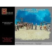 PEGASUS 1:72 CALIFORNIA MISSION INDIANS 39 FIGURES