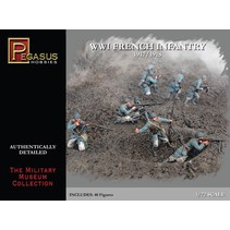 PEGASUS 1:72 WWI FRENCH INFANTRY 1917/1918