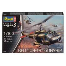 REVELL BELL UH-1H GUNSHIP 1/100