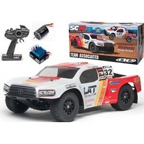TEAM ASSOCIATED SC10 RS ( RACE SPEC ) SHORT COURSE TRUCK TOYOTA  LAT RACING OILS W/ 2.4GHZ RADIO  1/10 SCALE
