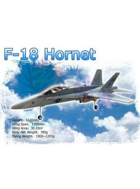 HY MODEL ACCESSORIES HY PAINTED F 18 MODEL INCLUDES 2X HY030602 FANS WITH BRUSHLESS MOTORS<br />