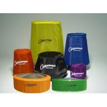 OUTERWEARS AIR FILTER RED 2 3/4 DIA, 2 1/2 TALL BAJA