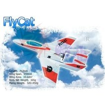 HY now $85.00 FOAM FLY-CAT WITH DUCTED FAN &amp; MOTOR<br />