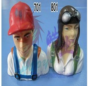 HY MODEL ACCESSORIES HY CIVILIAN PILOT 79 x 73 x 45 1/6<br />( OLD CODE HY310701 )