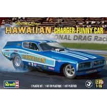 REVELL HAWAIIAN CHARGER FUNNY CAR ROLAND LEONG 1/16