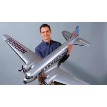"""Top Flite Douglas DC-3 Twin Kit .25-.40 (2),82.5"""""""