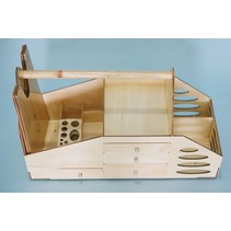 SEAGULL ASSEMBLED WOODEN FLIGHT FIELD BOX