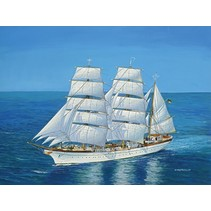 REVELL GORCH FOCK 1:150 SCALE PLASTIC KIT 05471