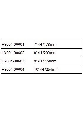HY MODEL ACCESSORIES HY 10in VARI PICH BLADES &#039;A ( 1PAIR )<br />( OLD CODE HY010604 )