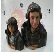HY MODEL ACCESSORIES HY 1:6 SCALE JET PILOT 75 X 42 X 75mm