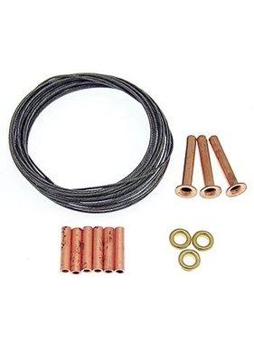 BRODAK BRODAK .027 x 10 ft. 3-line 125# Leadout Wire Kit