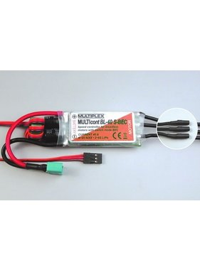 MULTIPLEX MPX 40AMP SPEED CONTROLLER