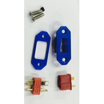 HY ALLOY ARMING UNIT   T PLUG TYPE WITH CONNECTORS  ( AVAIL RED OR BLUE )