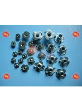 HY MODEL ACCESSORIES HY BLIND &quot; T &quot; NUTS 4mm ( 100 PK )<br />