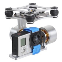 Brushless Gimbal Aluminum Camera Mount with Motor & BGC3.1 Controller for GoPro Hero 1 / 2 / 3 FPV Aerial Photography