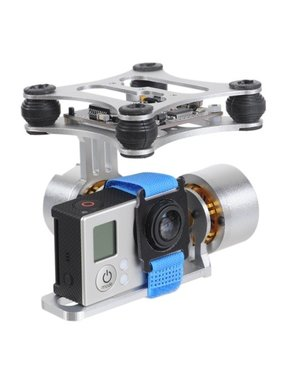 CHINA ELECTRONICS Brushless Gimbal Aluminum Camera Mount with Motor & BGC3.1 Controller for GoPro Hero 1 / 2 / 3 FPV Aerial Photography