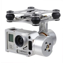 Brushless Gimbal Aluminum Camera Mount with Motor & Controller for GoPro Hero 3 FPV Aerial Photography GUI DOWNLOAD: http://www.basecamelectronics.com/files/v10/SimpleBGC_GUI_2_2b2.zip