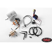 JDMODEL JDMODEL HYDRAULIC 1/14 TELESCOPIC  ACTUATION STARTER KIT SYSTEM 2 <br />SUITS TAMIYA TRACTOR TRUCKS