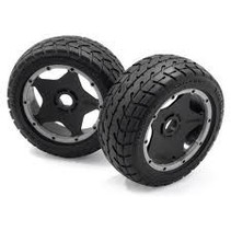HPI TARMAC BUSTER ROAD TIRE WITH WHEEL