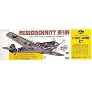 """GUILLOWS GUILLOWS MESSERSCHMITT BF-109  24 3/8"""" WING SPAN - SCALE FLYING MODEL KIT  401LC"""