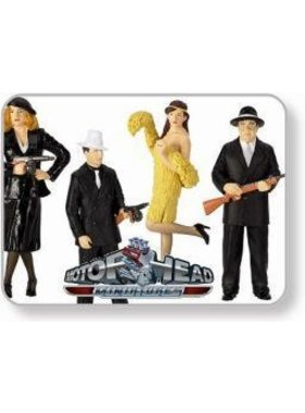 MOTOR HEADS MOTOR HEAD 1/24 MINIATURES THE RUB OUT (4) GANGSTER #983