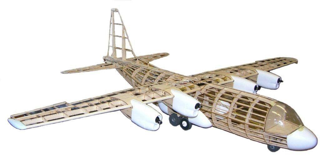 Dare Design Dare Ac 130 Lockheed Martin Electric Rc Kit 60