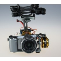 COMPLETE 2 AXIS GIMBAL 36-08  70T FOR CAMERAS 1200g_1400g